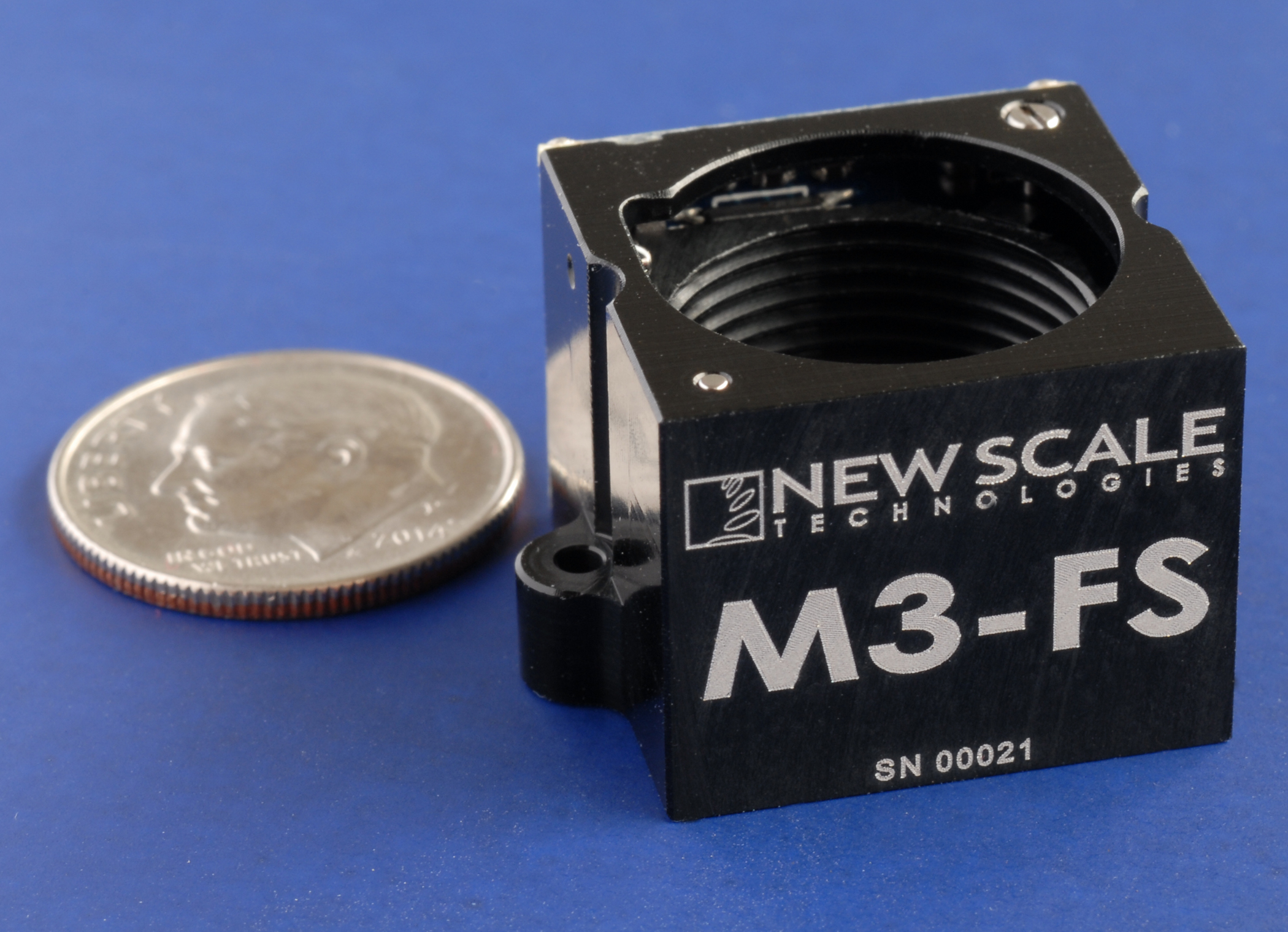 New Scale Technologies' mini all-in-one focus module has improved tilt, accuracy and dynamic stability for high-performance embedded camera systems