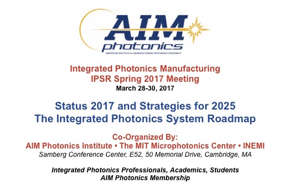 AIM Photonics IPSR Spring Meeting